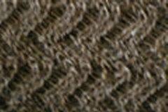 Chevron Skinny Scarf - Mink