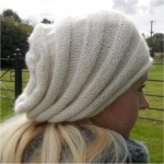 Textured Slouch Hat