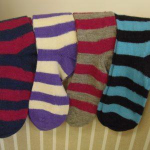 Stripy socks