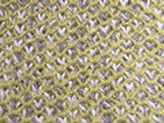Honeycomb Scarf - Green/Mauve