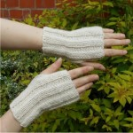 Ribbed Wristwarmers